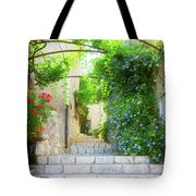 Old Town Of Provence Street Tote Bag
