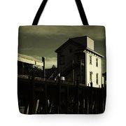 Old Town Sacramento California Cityscape Tote Bag