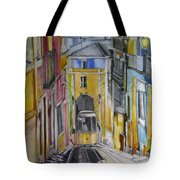 Old Town Streets Tote Bag