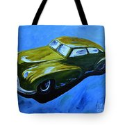 Old Toy Car Tote Bag