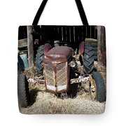 Old Tractor 4 Tote Bag