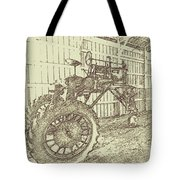 Old Tractor Tote Bag