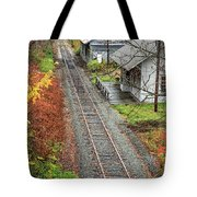 Old Train Station Norwich Vermont Tote Bag