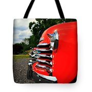 Old Truck Grille Tote Bag