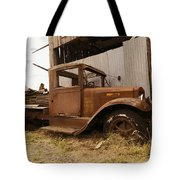 Old Truck In Old Forgotten Places Tote Bag