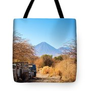 Old Truck In San Pedro De Atacama Tote Bag