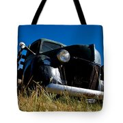 Old Truck Low Perspective Tote Bag
