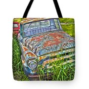 001 - Old Trucks Tote Bag