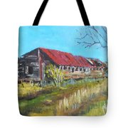 Old Turkey House Tote Bag
