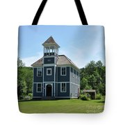 Old Two Room School House Tote Bag