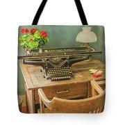 Old Underwood Typewriter Tote Bag