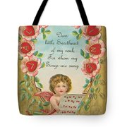 Old Valentine Design Four Tote Bag