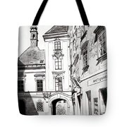 Old Viennese Courtyard Tote Bag
