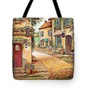 Old Village 3 Tote Bag