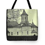 Old Village Church Tote Bag