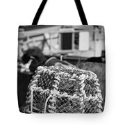 Old Vintage Hand Made Rope Lobster Pot Used In Fishing Industry Tote Bag
