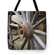 Old Waagon Wheel Tote Bag