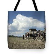 Old Wagon Out West Tote Bag