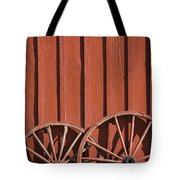 Old Wagon Wheels IIi Tote Bag