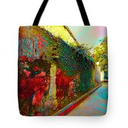 Old Wall Of The Ancient City Tote Bag
