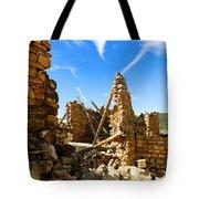Old Walls Fallen Tote Bag