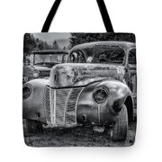Old Warrior - 1940 Ford Race Car Tote Bag