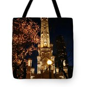 Old Water Tower, Intersection Tote Bag