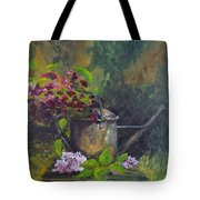Old Watering Can  Tote Bag