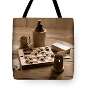 Old Way Of Life Series - Past Time Tote Bag