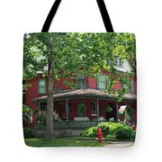 Old West End Red 2 Tote Bag