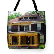Old West End Red 3 Tote Bag