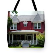 Old West End Red 5 Tote Bag