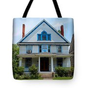 Old West End White 10 Tote Bag