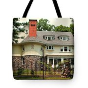 Old West End White 5 Tote Bag