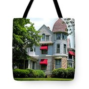 Old West End White 7 Tote Bag