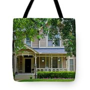 Old West End White 9 Tote Bag