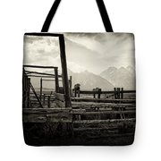 Old West Relics Tote Bag