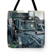 Old West Wagon Train Down Tote Bag