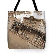 Old Western Town Tote Bag