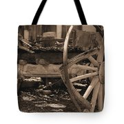 Old Western Wagon # 4 Tote Bag