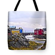 Old Whaling Village Nyksund Tote Bag