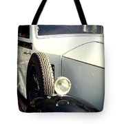 Old White Rolls Tote Bag