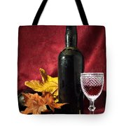Old Wine Bottle Tote Bag