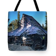 Old Witch Hat Gold Mine Tote Bag