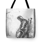 Old Woman In Chair Tote Bag