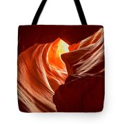 Old Woman In The Canyon Tote Bag