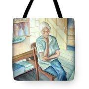 Old Woman Tote Bag