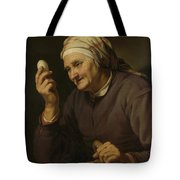 Old Woman Selling Eggs, 1632 Tote Bag