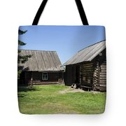 Old Wood House,russia Tote Bag by Atul Daimari