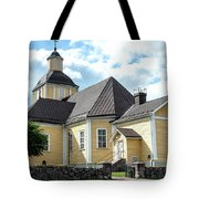 Old Wooden Church  Tote Bag